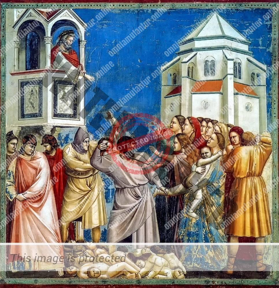 Giotto di Bondone The Massacre of the Innocents 1302-05