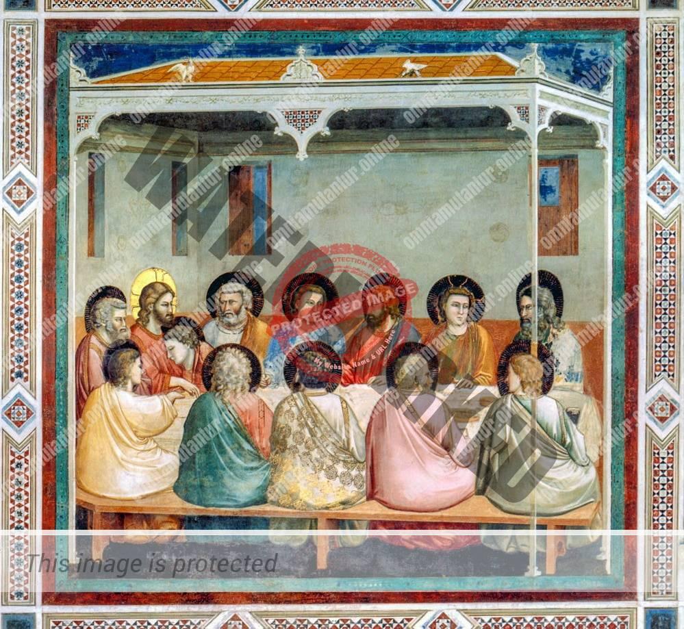 Giotto di Bondone Last Supper