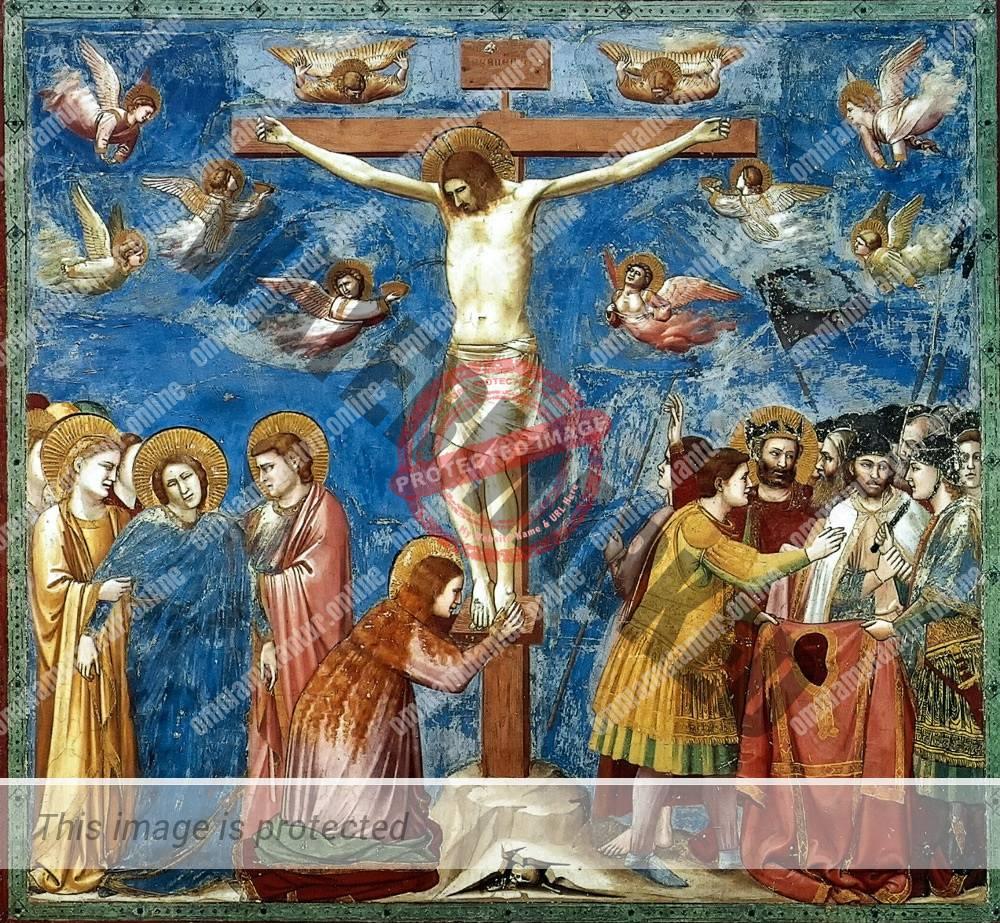 Giotto di Bondone Crucifixion 1302-05