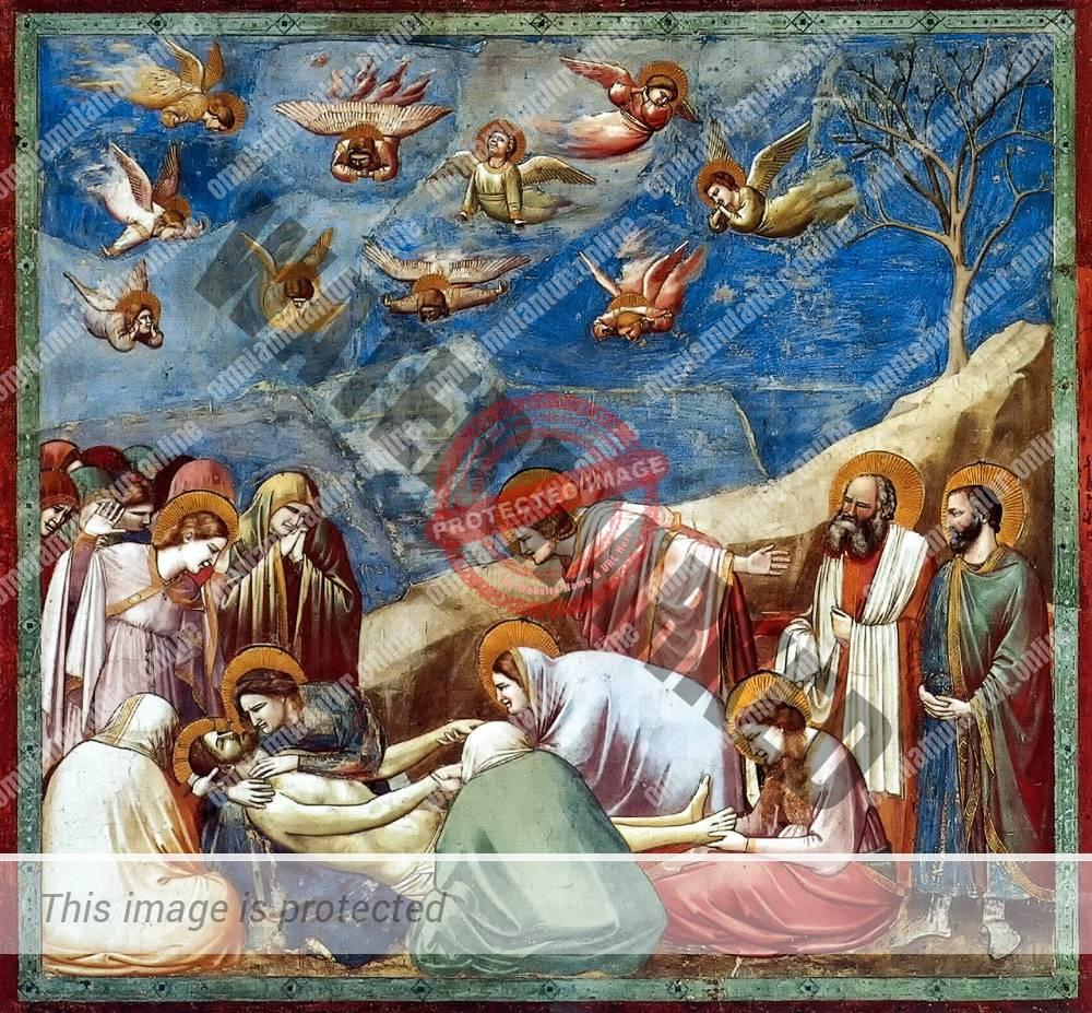 Giotto di Bondone Lamentation 1302-05