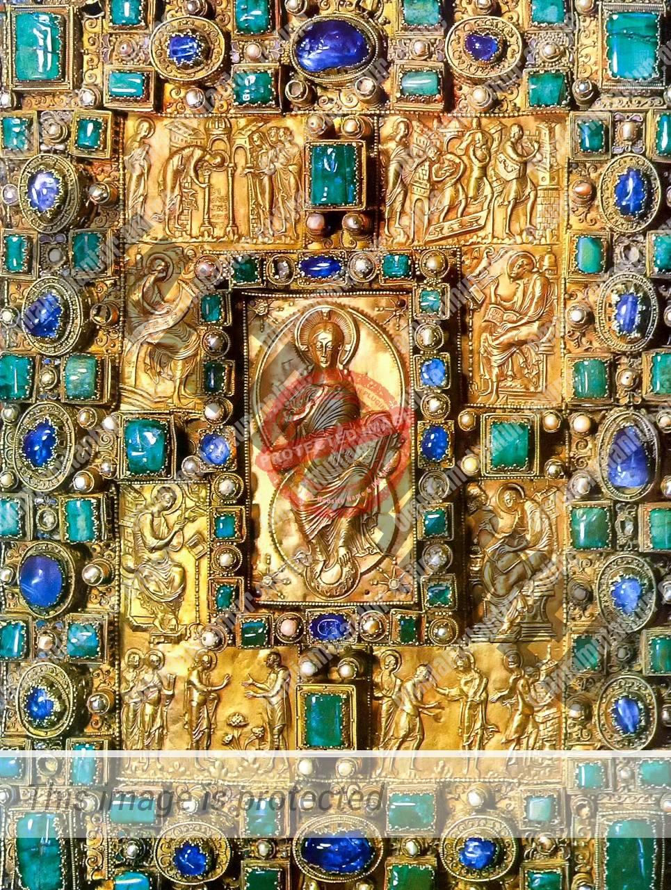 Codex Aureus 870 AD Medieval Arts