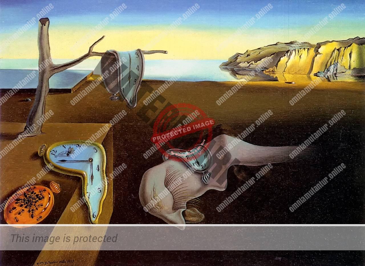 Dali Persistence of Memory 1931 Art Surrealism