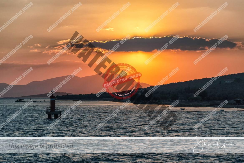 Ayvalık Turkey Landscape Sunset