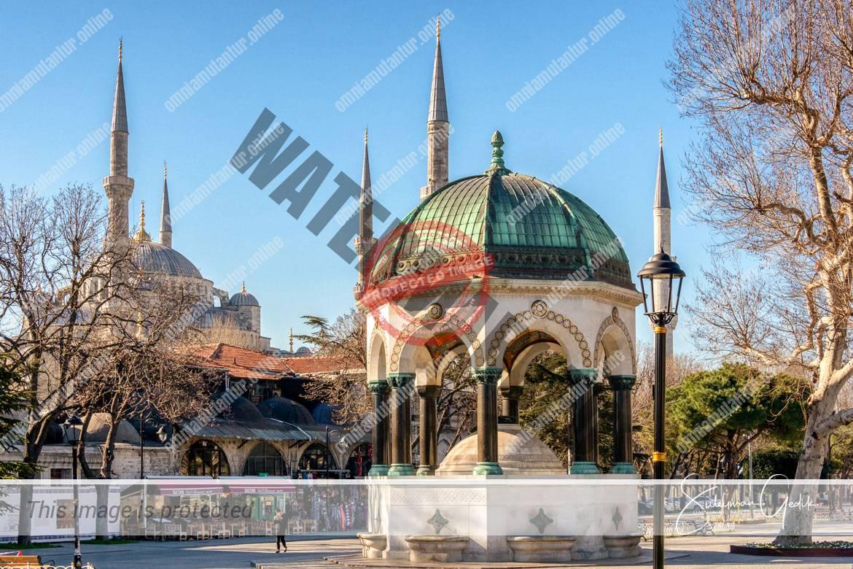 Sultanahmet Istanbul Turkey Mosque