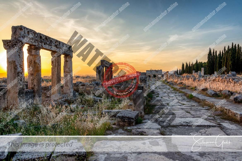 Hierapolis Phrygia Turkey Denizli Archaeological