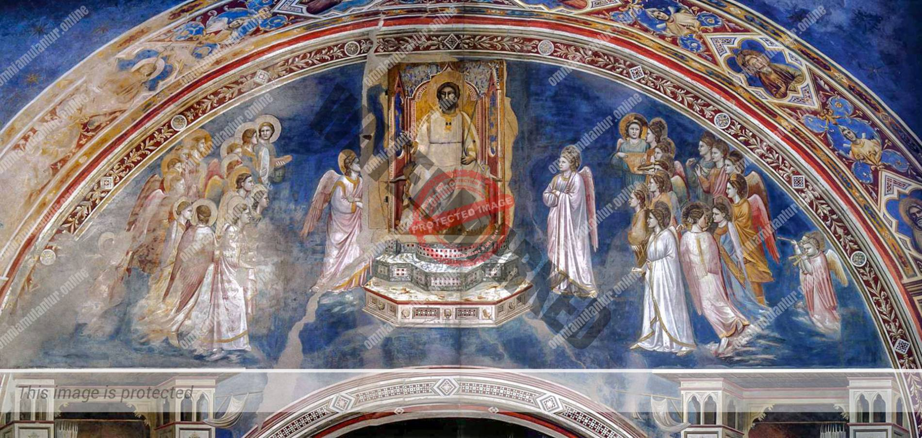 God the Father encircled by Angels 1302-05
