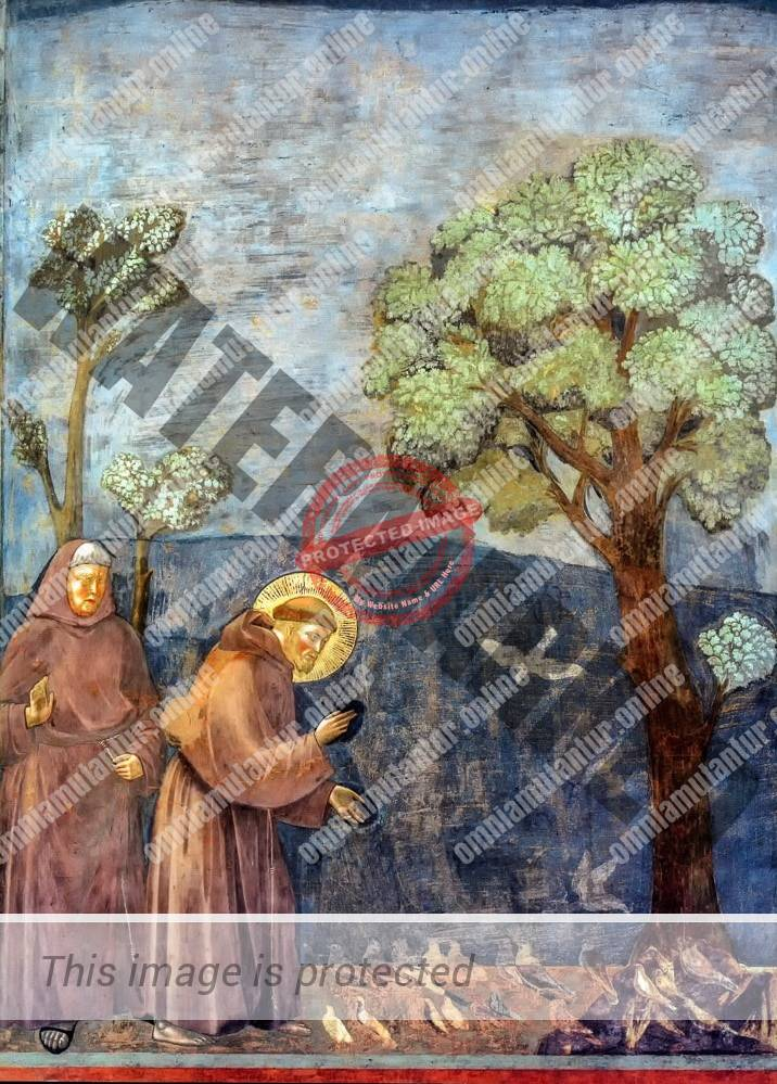 St. Francis Preaching the Birds 1300