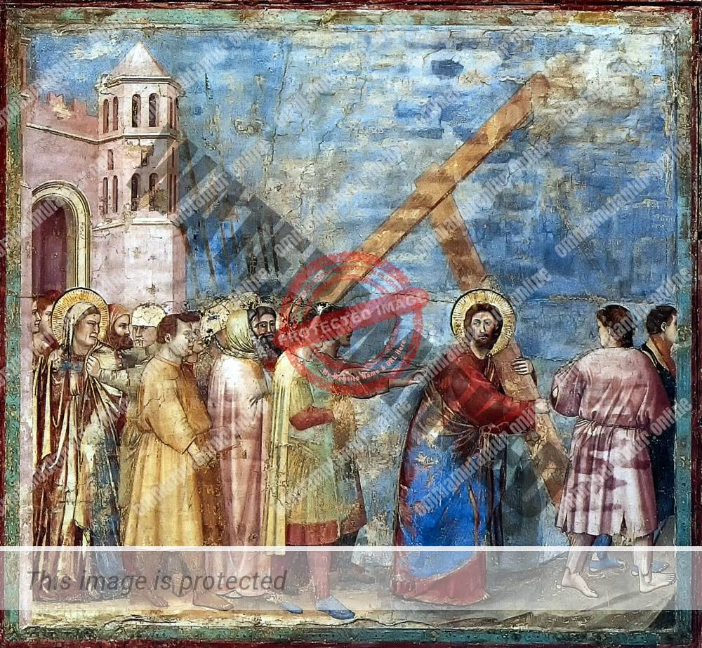 Giotto di Bondone Carrying of the Cross 1302-05