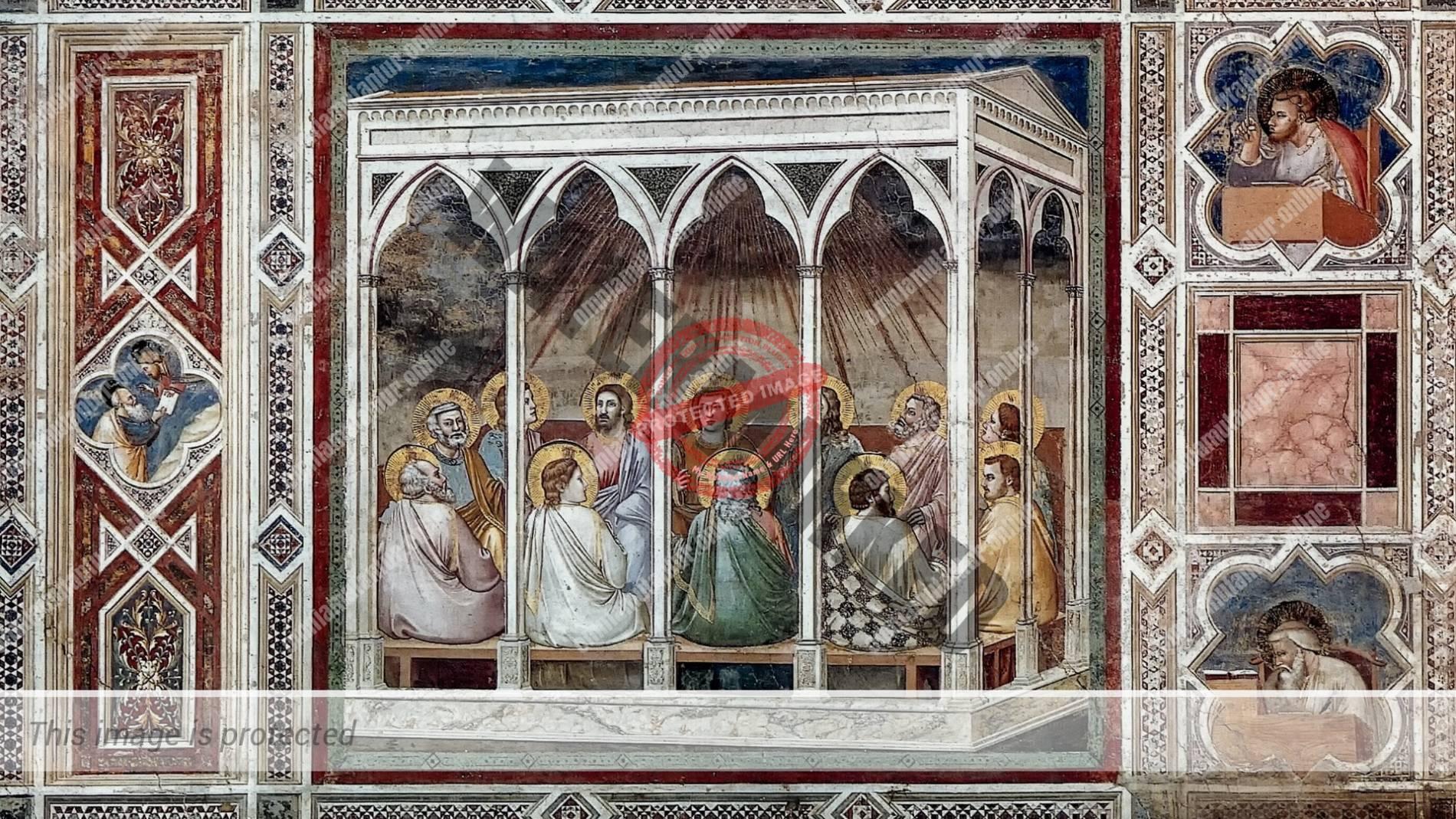 Giotto di Bondone Pentecost 1302-05