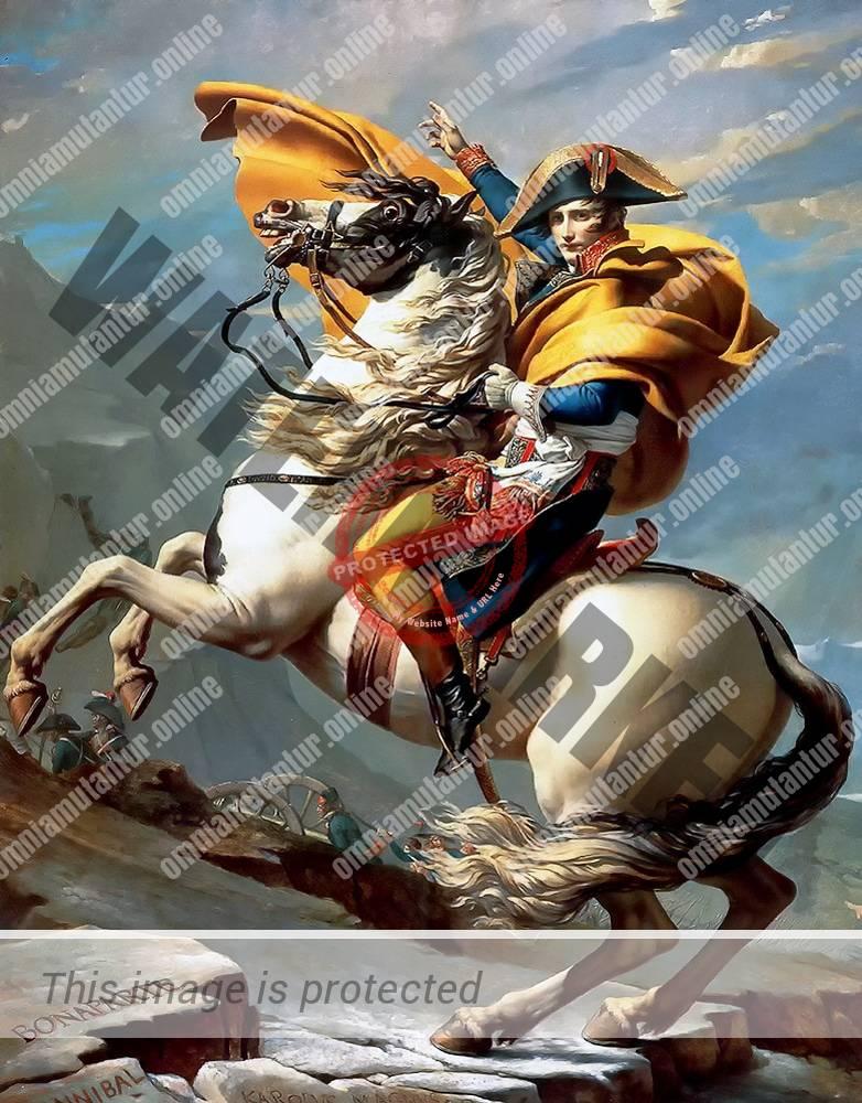 Jacques Louis David Napoleon Bonaparte 1800 French Painter