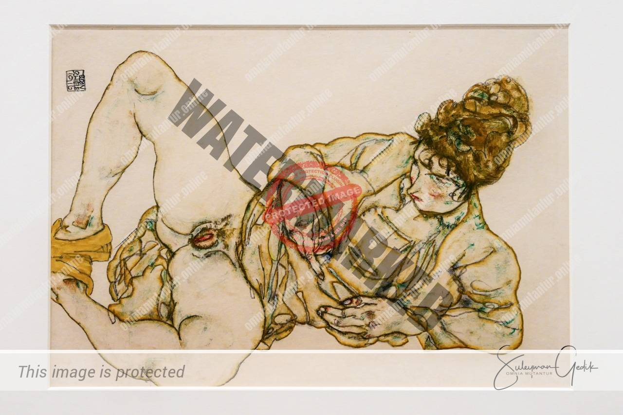 Naked Woman Reclining 1916
