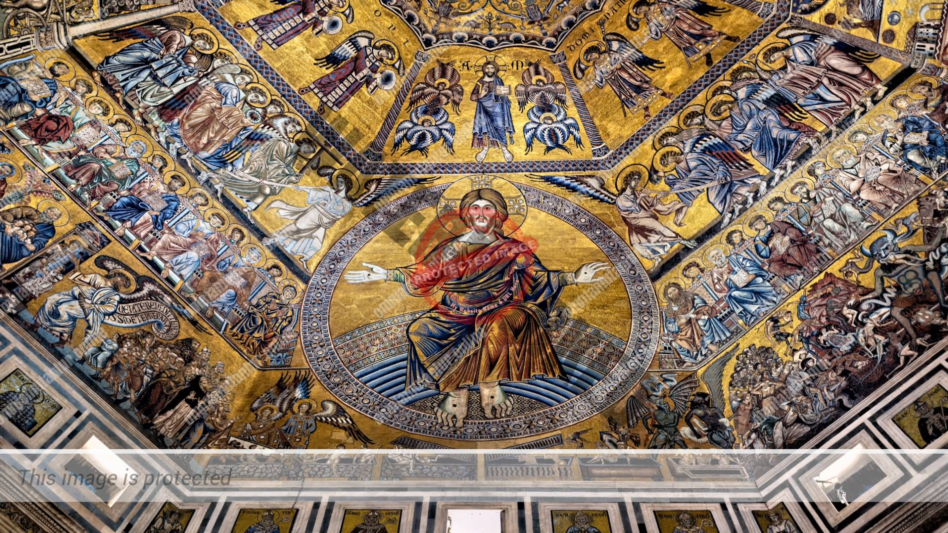Baptistery Florence Cathedral Cristian