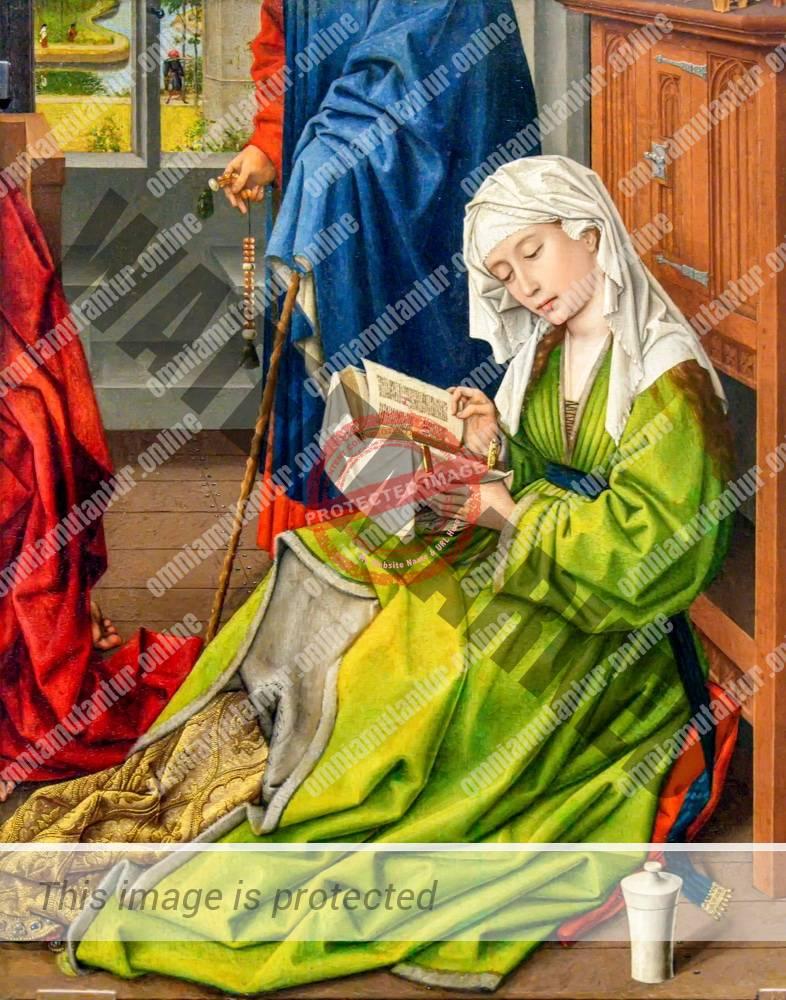 Weyden Reading Magdalene 1445