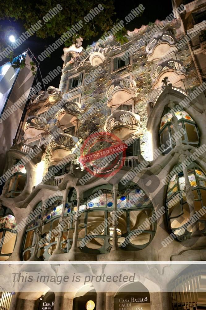 Gaudi: Casa Battlo (1904-1906)