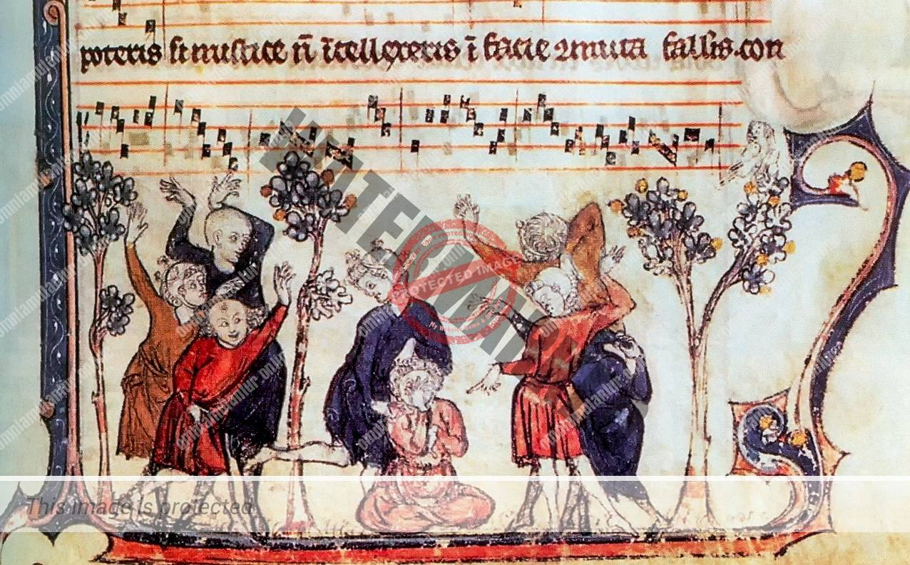 Medieval Songbook: Monkey in the Middle