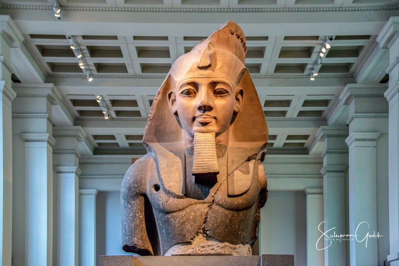 Ramesses II British Museum London England