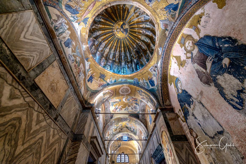 Chora Church Istanbul Turkey Museum Orthodox Christian Mosaic