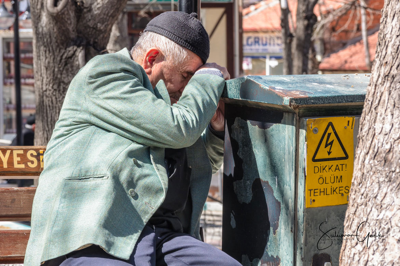 Kütahya Turkey Street Old Man