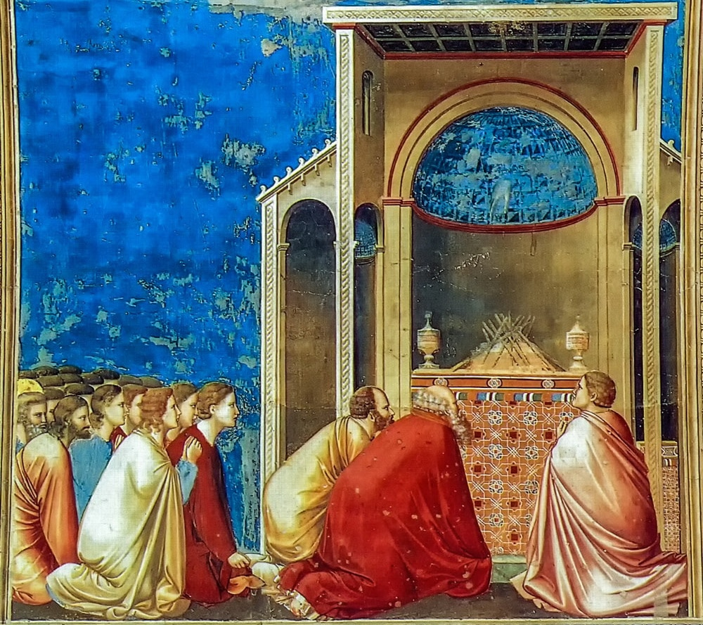 The Wooers Praying 1302-05