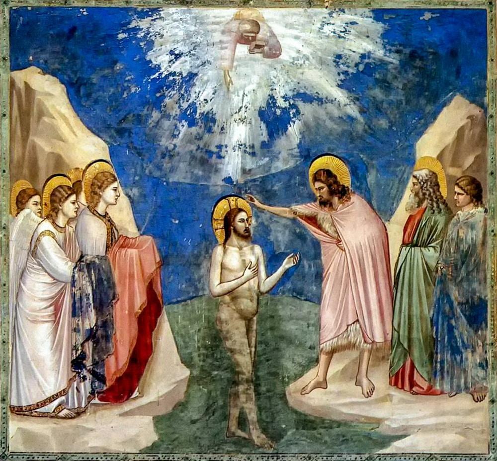 Giotto di Bondone Baptism of Christ