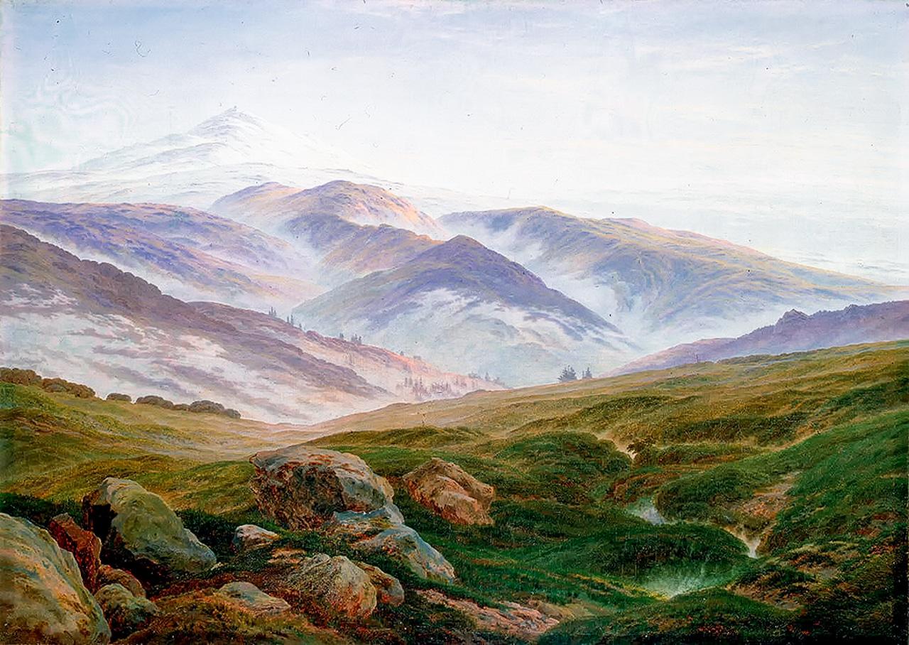 Caspar David Friedrich Riesengebirge German Romanticism Arts