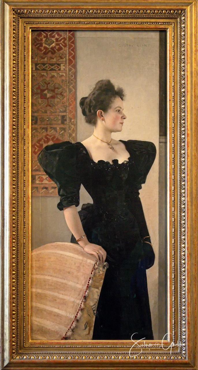 Gustav Klimt Portrait of a Woman 1893 Belvedere Museum Vienna Austria Arts Sezession
