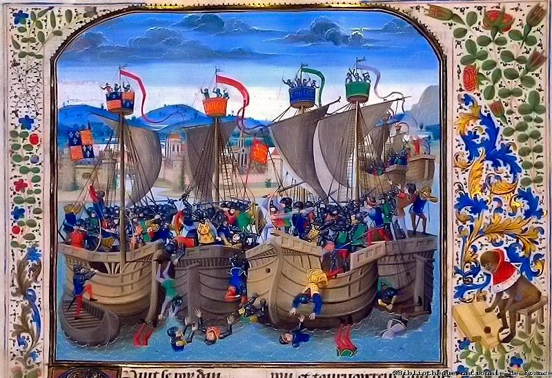 Battle of Sluys 1340 Hundred Years War