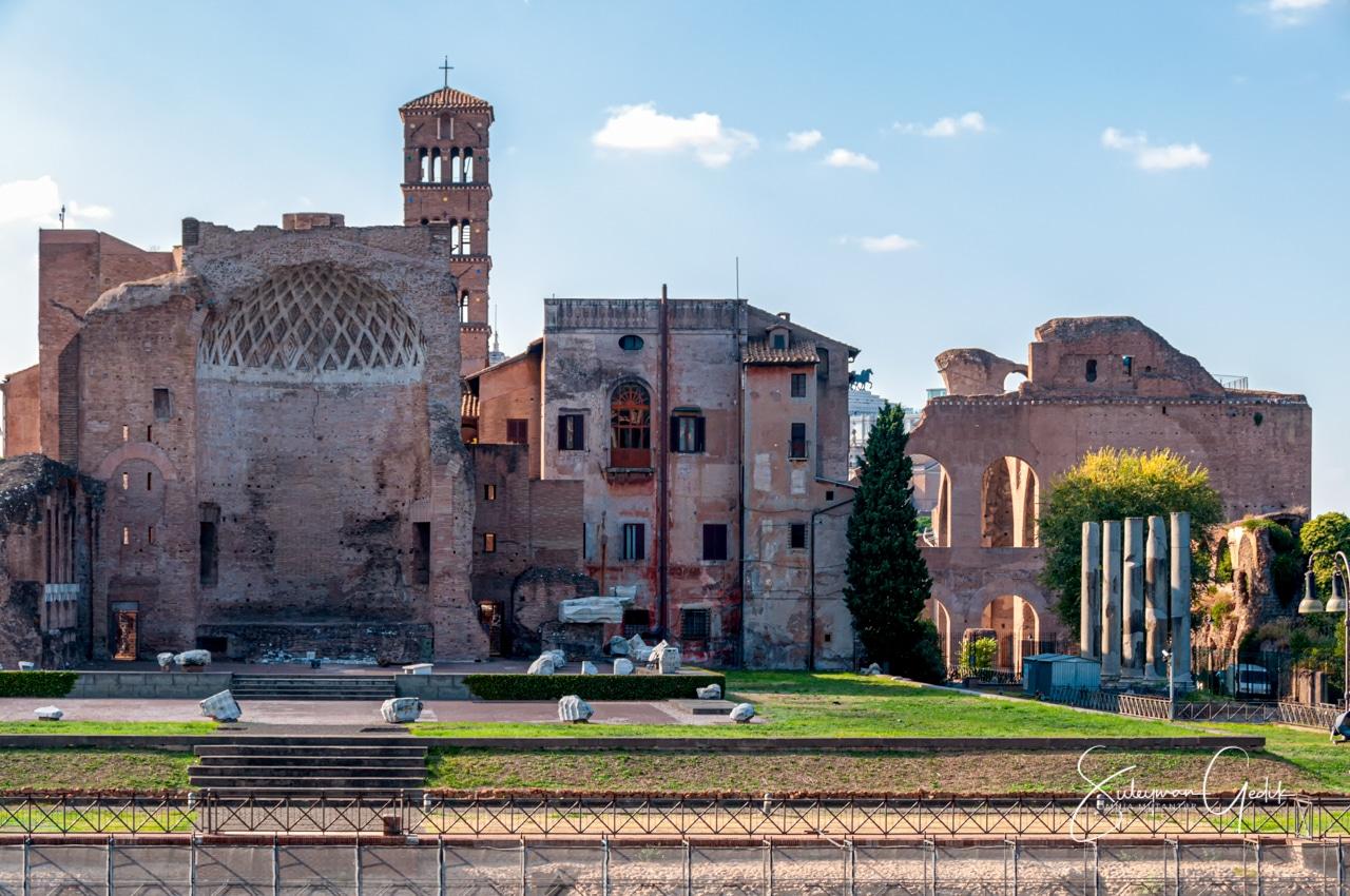 Roman Forum Archaeological Italy