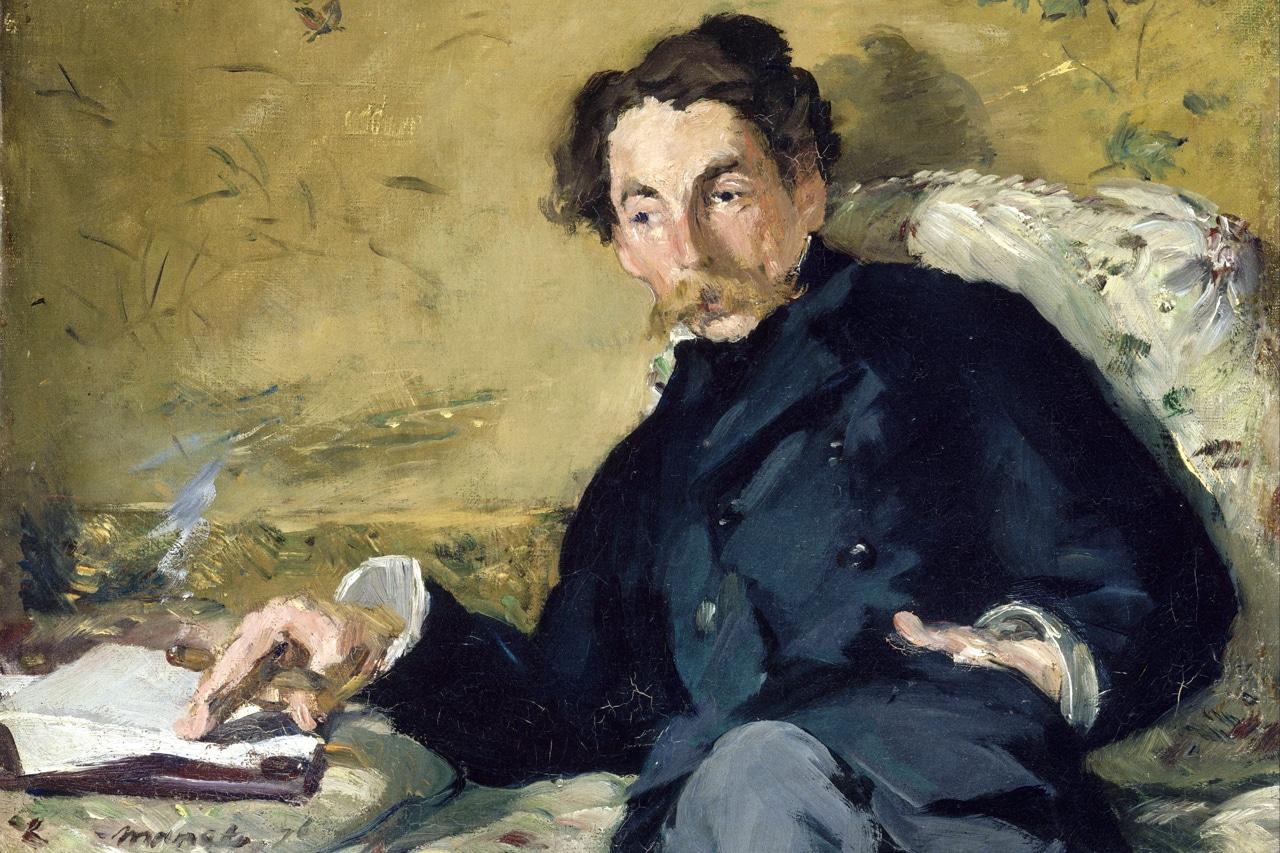 Manet Stephane Mallarme