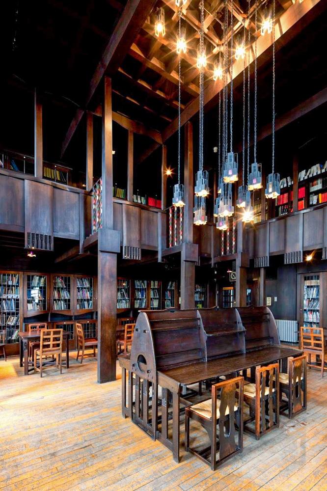 Glasgow School of Art Library