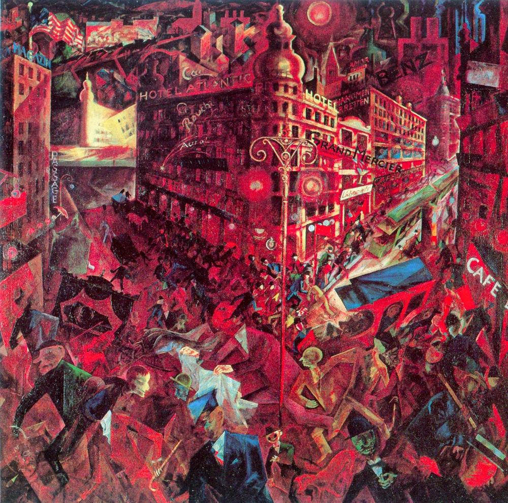Grosz: The City (1916-17)