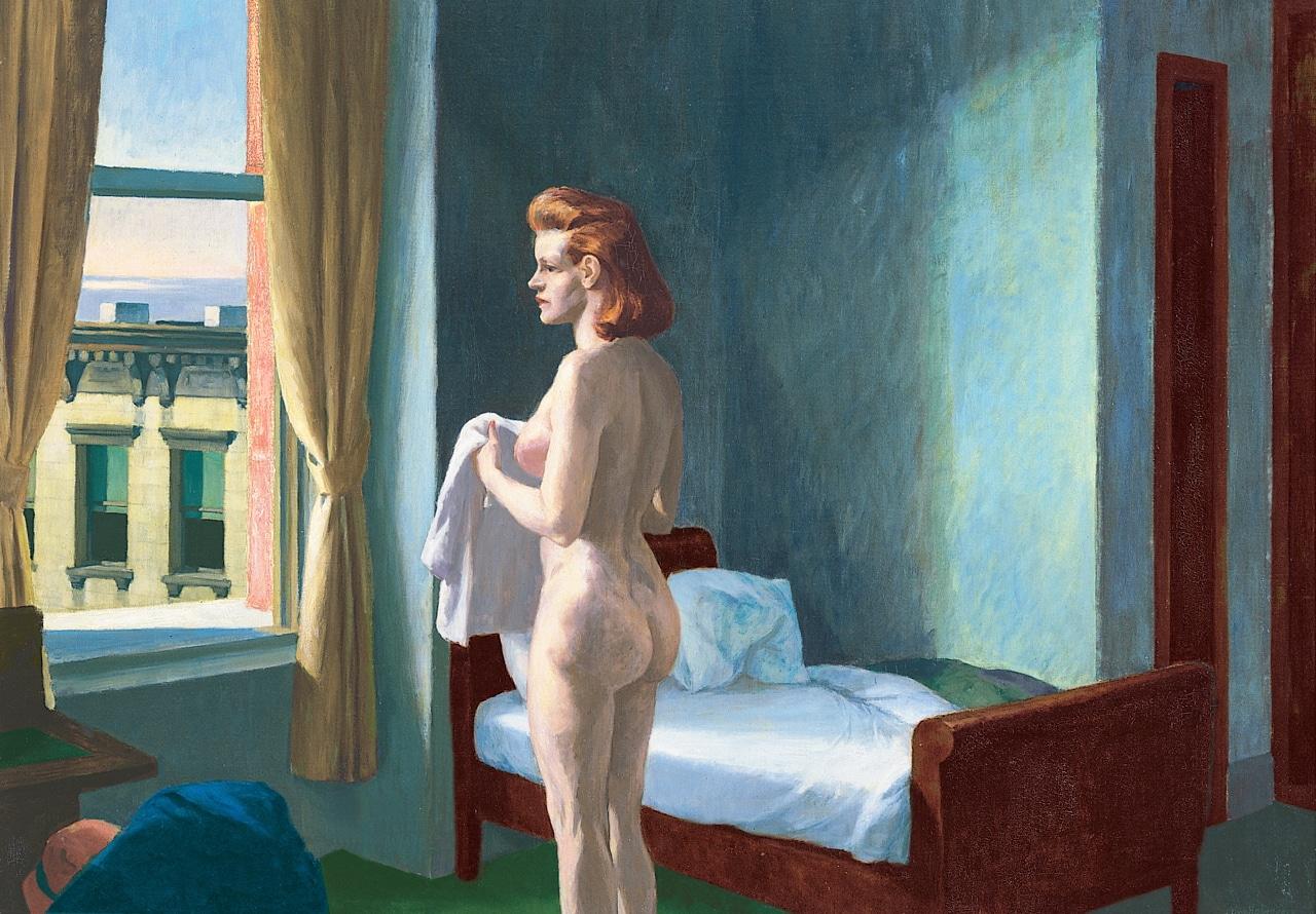 Edward Hopper: Morning