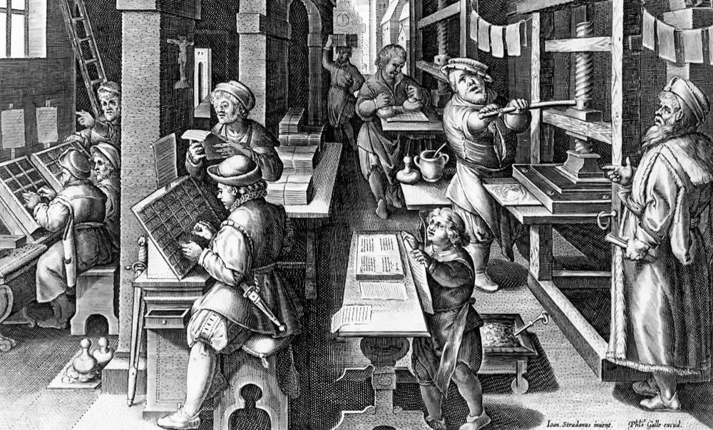 Johannes Gutenberg Printing Press
