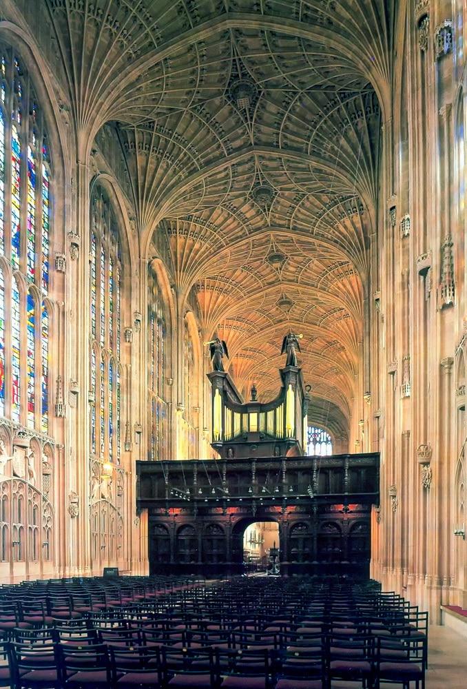 King's College Chapel Cambridge 15th Century