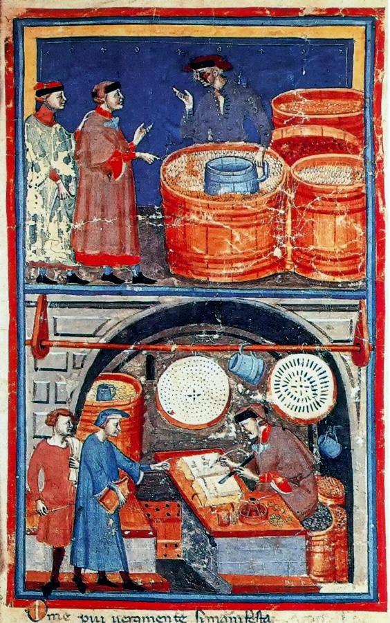 Lenzi Domenico City Scene 1340