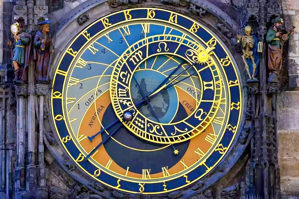 Prague 600 Year Old Medieval Clock