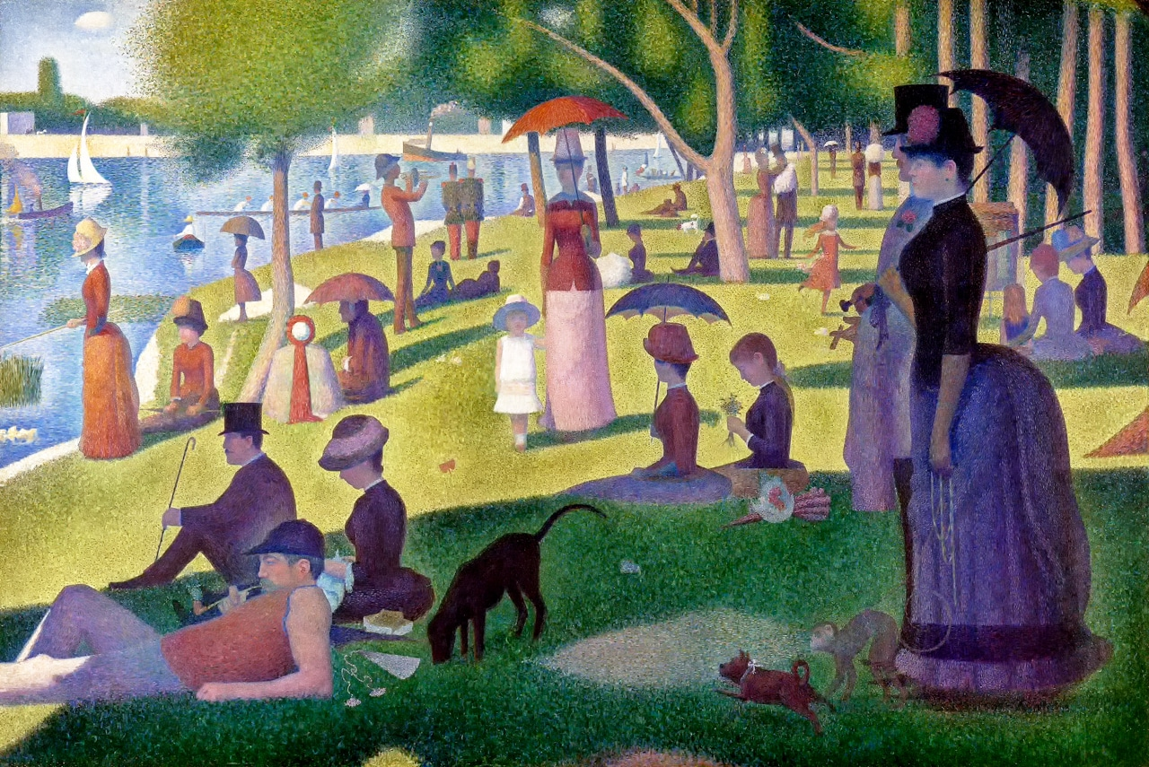 Seurat Sunday on La Grande Jatte 1884 Art Pointillism