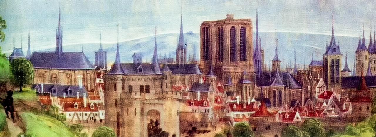 Paris France Gothic 1480